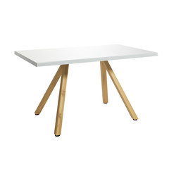 Robinia with tabletop Classic | Restaurant tables | nanoo by faserplast