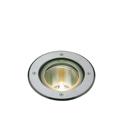 Inground 180 front ring flush with ground | Outdoor recessed floor lights | Arcluce