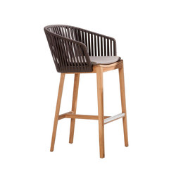 Mood Bar Chair | Sgabelli bar da giardino | Tribu