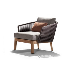 Mood Sofa / Club Chair | Teak | Garden armchairs | Tribù
