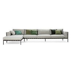 Natal Alu Sofa modular system | Sofas de jardin | Tribù
