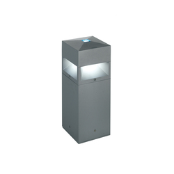 Kubix 180 radial illumination - with decorative glass | Bollard lights | Arcluce