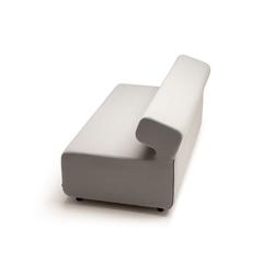 up von fora form 1 sitzer mit r ckenlehne 1 sitzer ohne. Black Bedroom Furniture Sets. Home Design Ideas