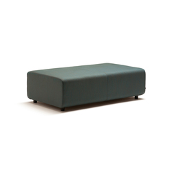 Up 2-Seater without backrest | Modular seating elements | Fora Form