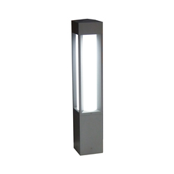 Quadrio 180 full light - with opalescent diffuser | Bolardos de luz | Arcluce