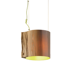 The Wise One Green pendant lamp | Suspensions | mammalampa