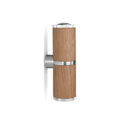 athene 2er wall spot wood | Wall lights | less'n'more
