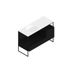 Morphing Steel 303 | Vanity units | Kos