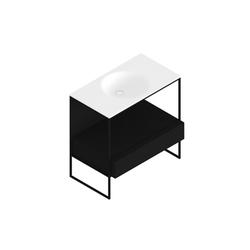 Morphing Steel 302 | Lavabos mueble | Kos