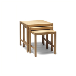 Periferia SP1-2-3 Table Series | Tavolini impilabili | Nikari
