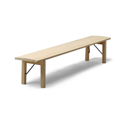 Arkitecture TJI3 Bench with folding legs | Bancs d'attente | Nikari