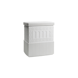 Metropolis - Box (white) | Storage boxes | Lladró