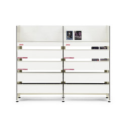 BBL DVD drawers | DVD-Ständer / -halter | Mobles 114