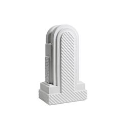 Metropolis - Vase IV (white) | Vases | Lladró