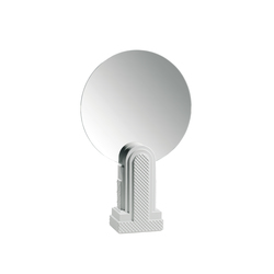 Metropolis - Vanity mirror (white) | Spiegel | Lladró