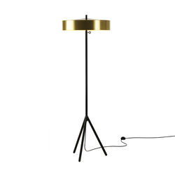 Cymbal 46 floorlamp brass colour | General lighting | Bsweden