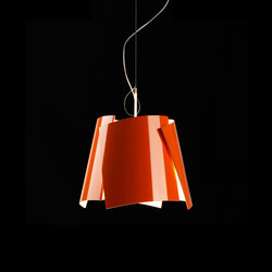 Leaf 42 pendant orange | General lighting | Bsweden