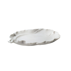 Naturofantastic - Large snack tray (white) | Trays | Lladró
