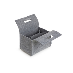 Little Porter Quarter Felt Carry Box | Boîtes de rangement | greybax