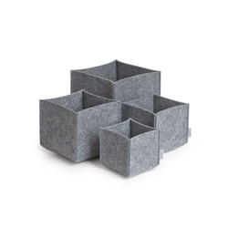 Square Set multi purpose boxes | Contenedores / cajas | greybax
