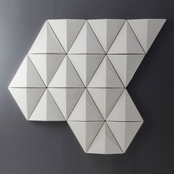 Bits Wall | Wall panels | Abstracta
