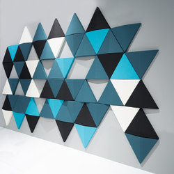 Bits Wall | Sound absorbing wall systems | Abstracta