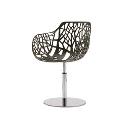 Forest swivelling armchair 02 | Chaises | Fast
