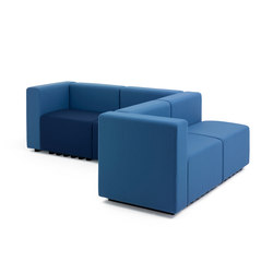 Lobby | Modular seating systems | +Halle