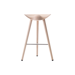 ML42 bar stool oak | Sedie alte | by Lassen