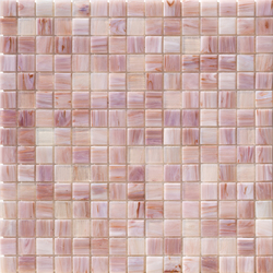 Aurore 20x20 Lilla | Glass mosaics | Mosaico+