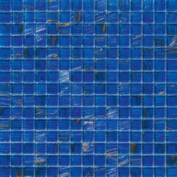 Aurore 20x20 Azzurro S | Glas Mosaike | Mosaico+