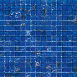 Aurore 20x20 Azzurro S | Glass mosaics | Mosaico+