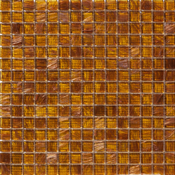 Aurore 20x20 Ambra | Glass mosaics | Mosaico+