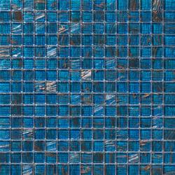 Aurore 20x20 Blu Orizzonte | Glass mosaics | Mosaico+