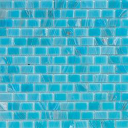 Aurore 20x30 Turchese | Glass mosaics | Mosaico+