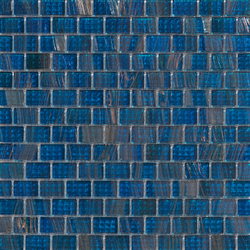 Aurore 20x30 Petrolio | Glass mosaics | Mosaico+