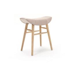 Kya | Stool Seat with wooden frame | Poufs | Freifrau Sitzmöbelmanufaktur