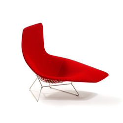 Bertoia asymmetric chaise | Chaise longues | Knoll International