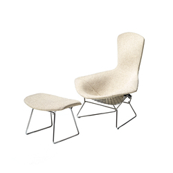 Bertoia high back ottoman | Armchairs | Knoll International