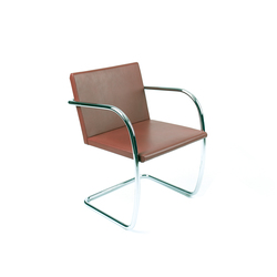 Brno tubular Side Chair | Visitors chairs / Side chairs | Knoll International