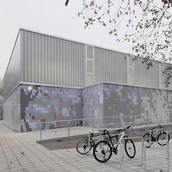 TIMax GL-PlusF | Sporthalle Berlin-Friedrichshagen | Fassadenbeispiele | Wacotech