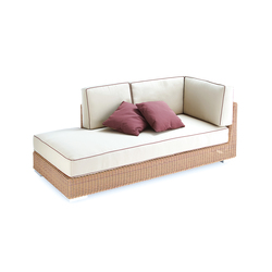 Golf corner modular part right arm | Sofas de jardin | Point