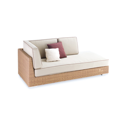 Golf corner modular part left arm | Garden sofas | Point