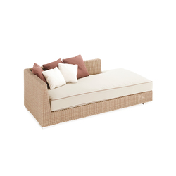 Golf sun bed left arm | Sofas de jardin | Point