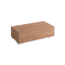 Green rectangular coffee table | Tavoli bassi da giardino | Point