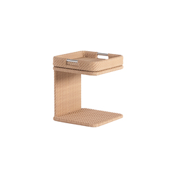 Combi low square table with tray | Tavolini di servizio da giardino | Point