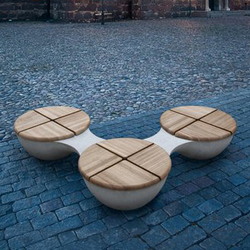 Union Bench Outdoor | Sillas de exterior | BEAU&BIEN