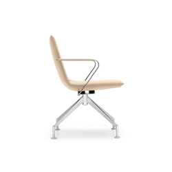 JACK 4-legged chair | Sillas de oficina | Girsberger