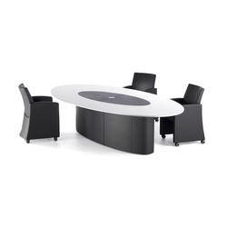"Sitag customized Oval conference table ""Special"" 