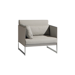 Squat 1 seat | Garden armchairs | Manutti